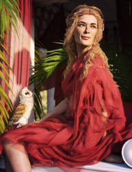 Crimson Lady by JoePingleton