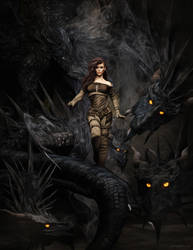 Dragon Storm by JoePingleton