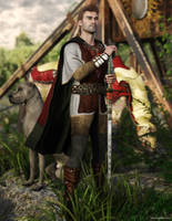 Weathered Warrior by JoePingleton