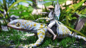 Taming the Lizard by JoePingleton