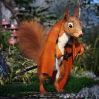 Squirrel Warrior