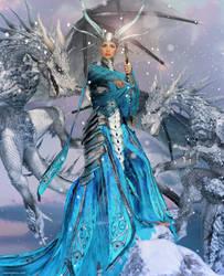 Winter Empress by JoePingleton