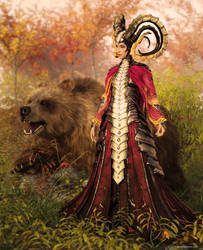 Autumn Empress by JoePingleton