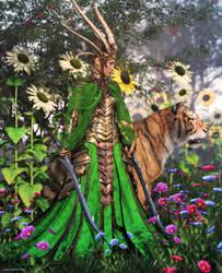 Spring Empress by JoePingleton