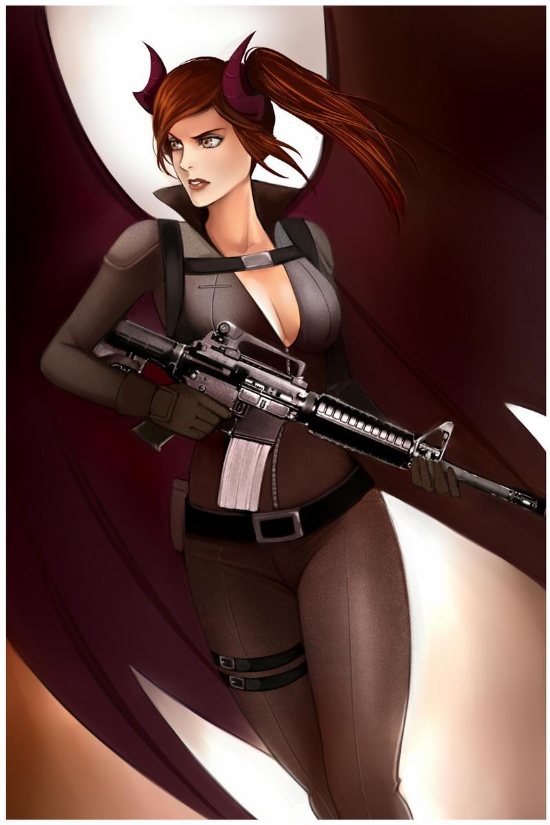 Linai 5 - Mercenary by emptycicada1