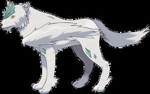 Custom (Fake) Pokemon - Opulwolf by Corinthiansrose77