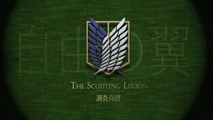 Shingeki no Kyojin - Scouting Legion Wallpaper