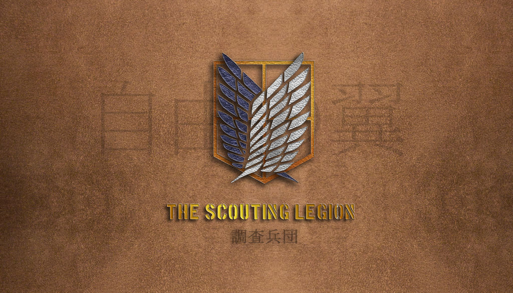 Shingeki No Kyojin Scouting Legion Wallpaper2 By