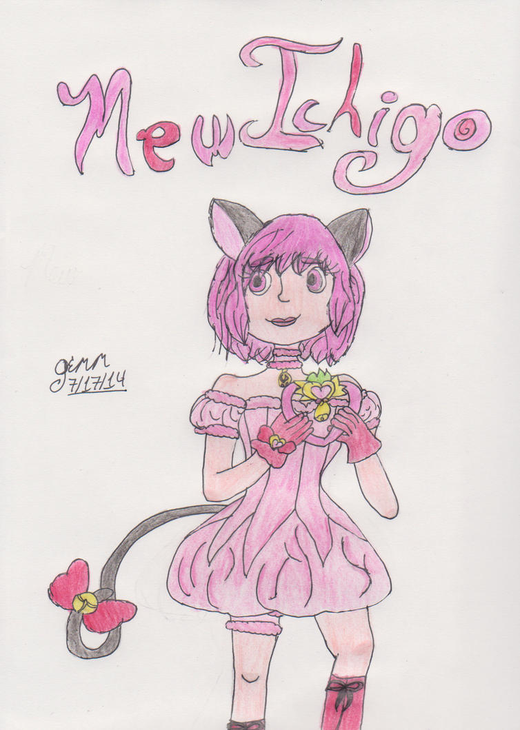Mew Ichigo by InsanitysEnding