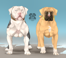 Bad Boys by SouthernDirtKennels