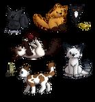 Chibi Cats