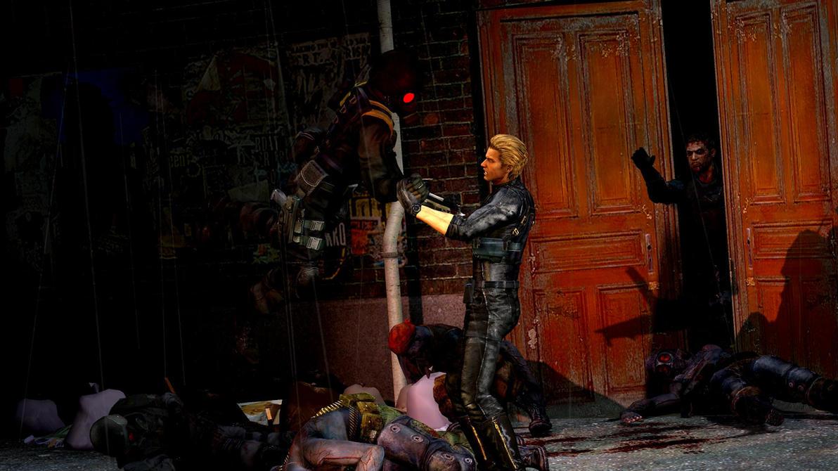 Resident evil badasses by McChris1