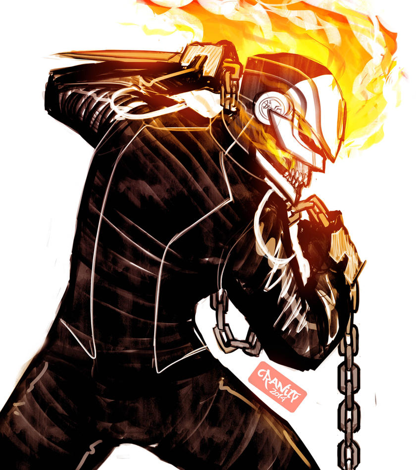 More Ghost Rider by Cranity
