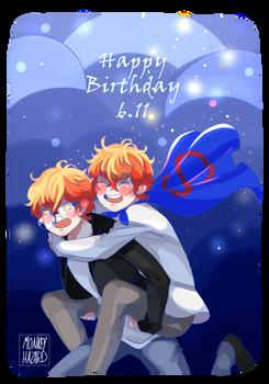 Choi twins Birthday!!!