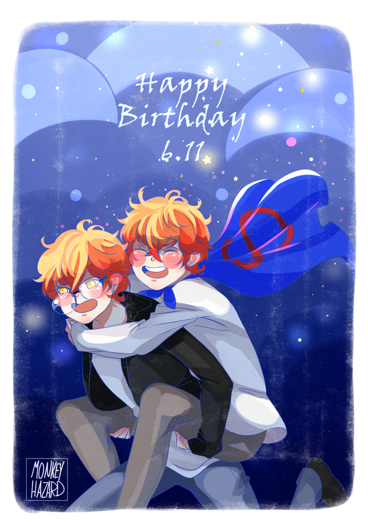 Choi twins Birthday!!! by MonkeyHazard