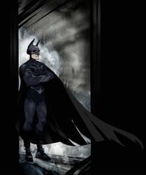 Batman by Sally-Avernier