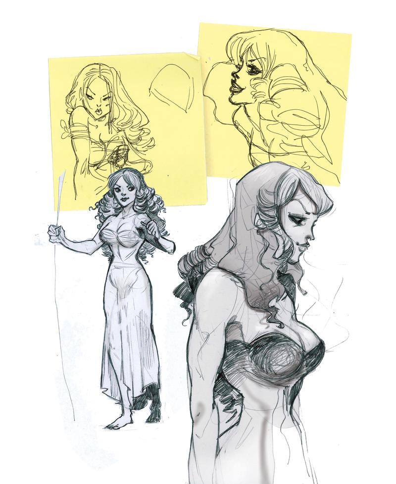 Chandras roughs draft by Sally-Avernier