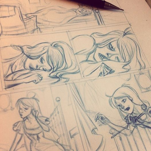 steampunk comic serie WIP by Sally-Avernier