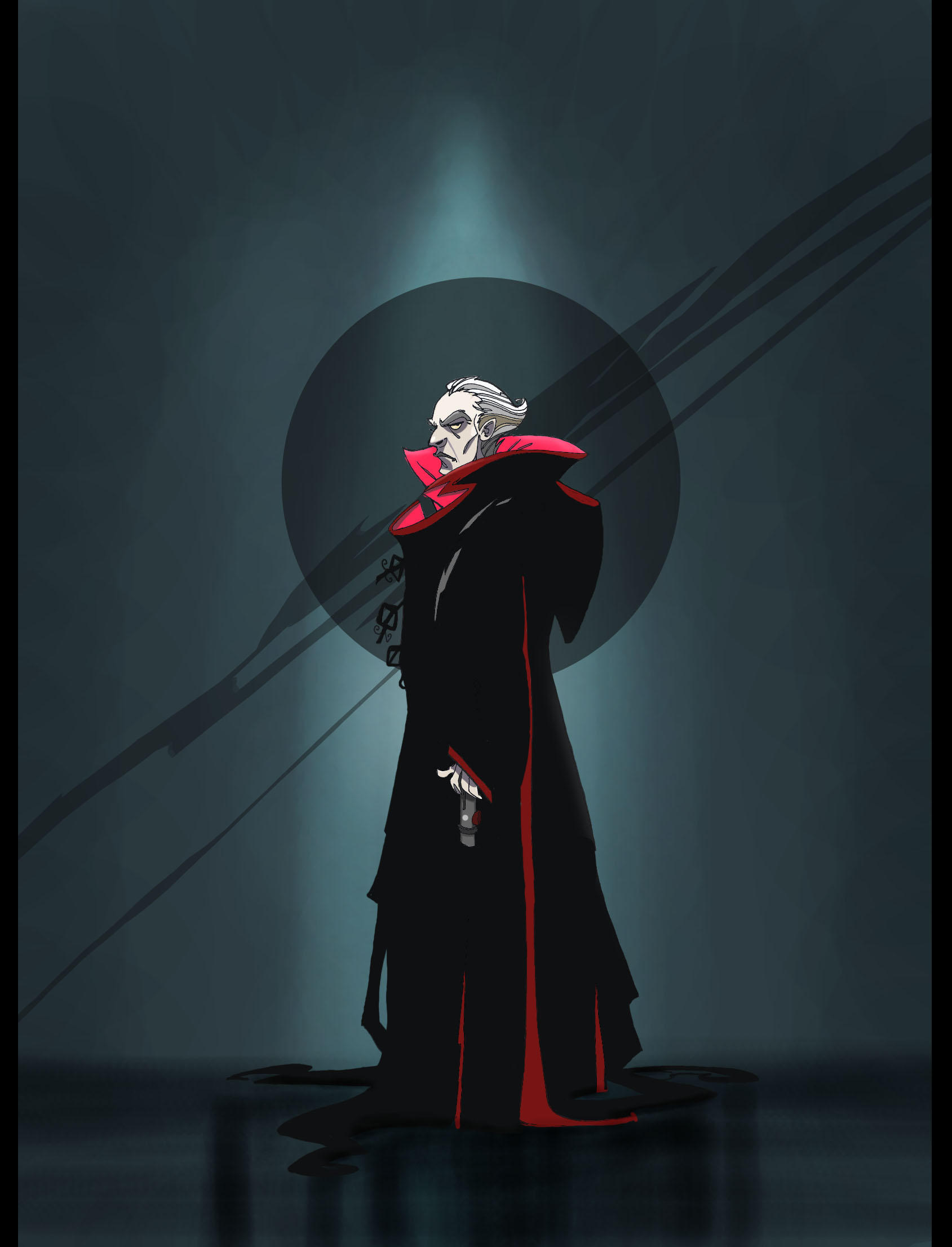 Chancellor Palpatine by Sally-Avernier