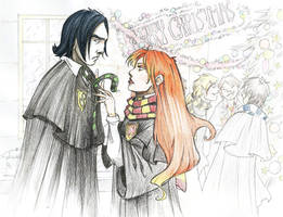 Snivellus and Lily by Sally-Avernier