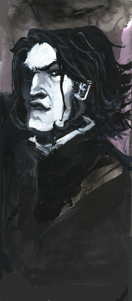 Snape by Sally-Avernier