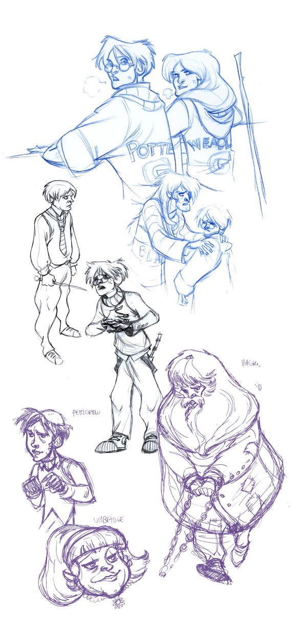 Potter-sketches by Sally-Avernier