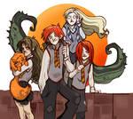 weasley and girls -no spoiler-