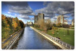 Down Town Ottawa, October