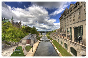 Down Town Ottawa, Canal, May by AmirNasher