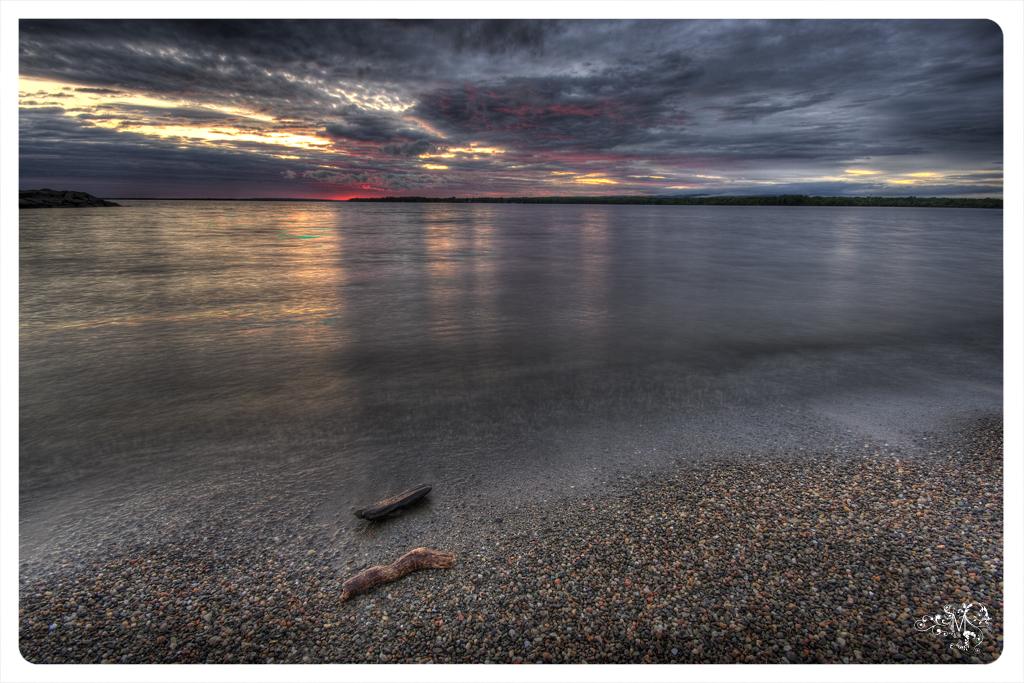 Britannia Bay Sunset, June by AmirNasher