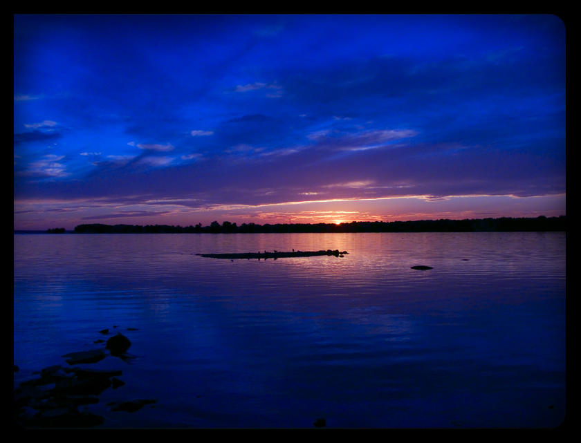 dark blue sky with - photo #35