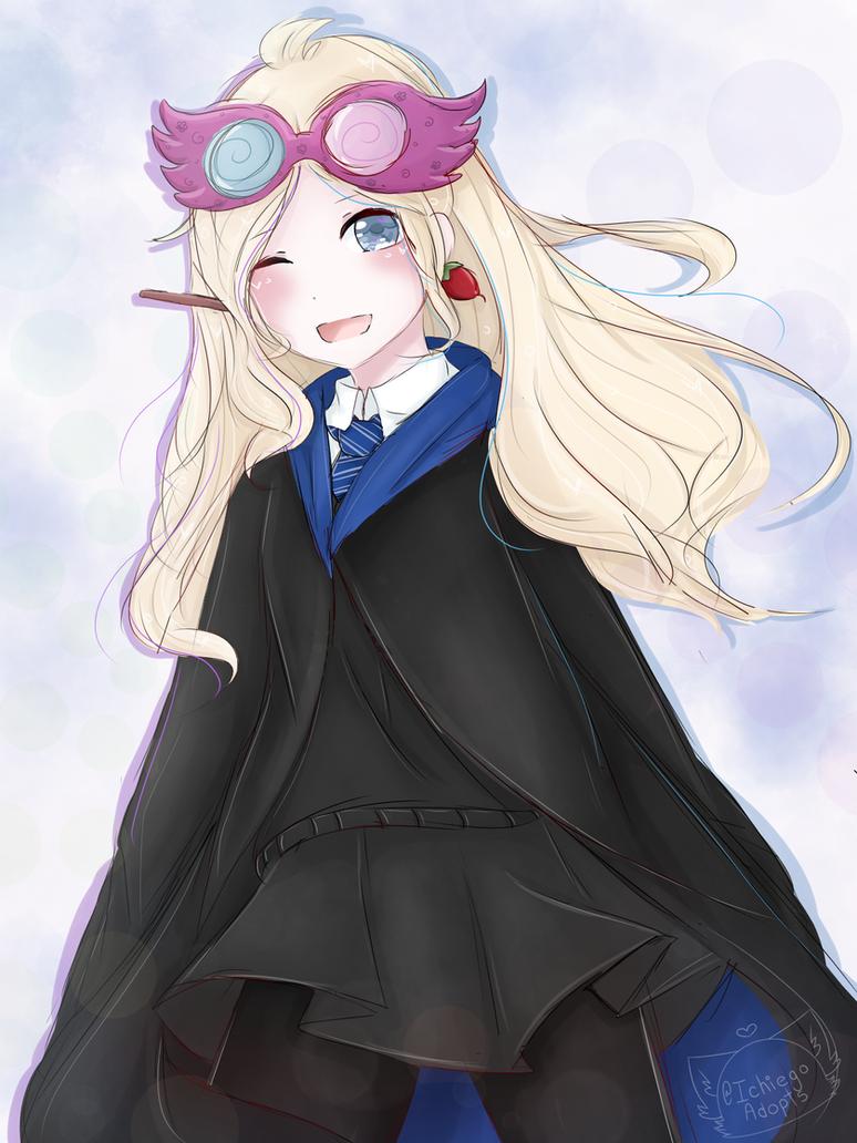 Luna Lovegood Anime