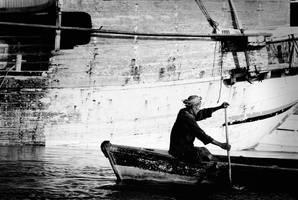 old oar by ycksuryadi