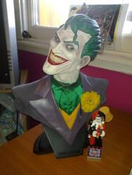 Joker Bust by theharmine