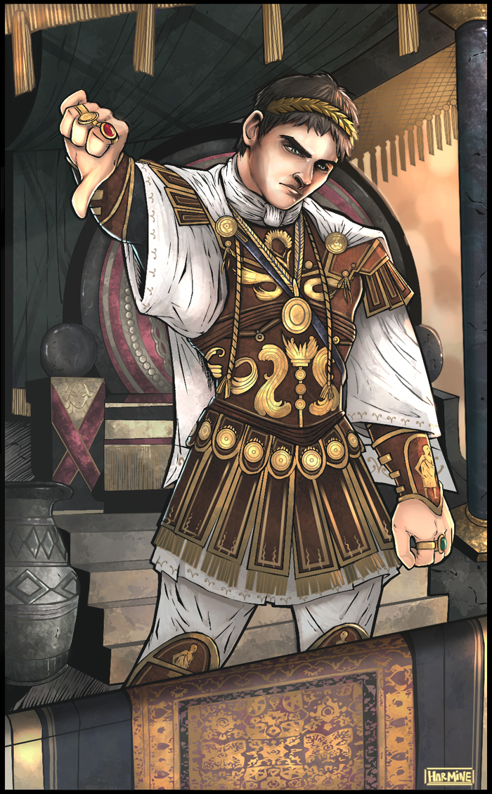 Commodus Caesar by theharmine on DeviantArt