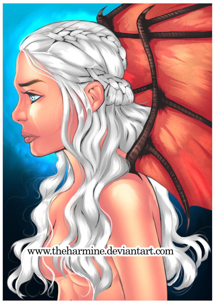 Mother of Dragons by theharmine