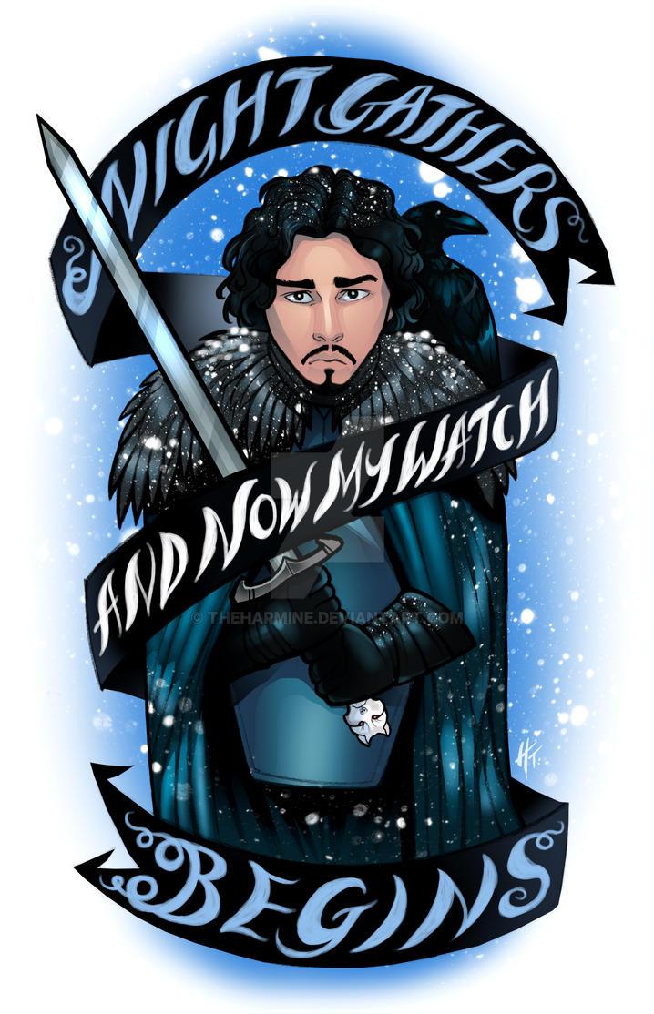 Jon Snow by theharmine