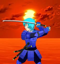 Red Sun Duel-samurai Linechu by evan01131989
