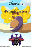 EZ- Chapter 1 -Cover- Friends forever