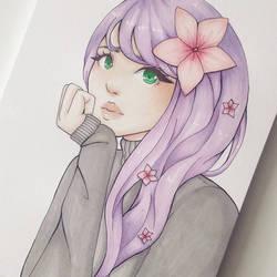 Flowers by denidenee