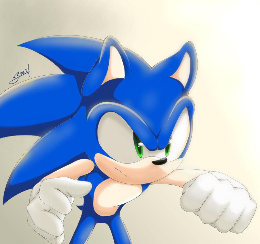 Sonic The Hedgehog Fan Art By Sonik Ariel On Deviantart
