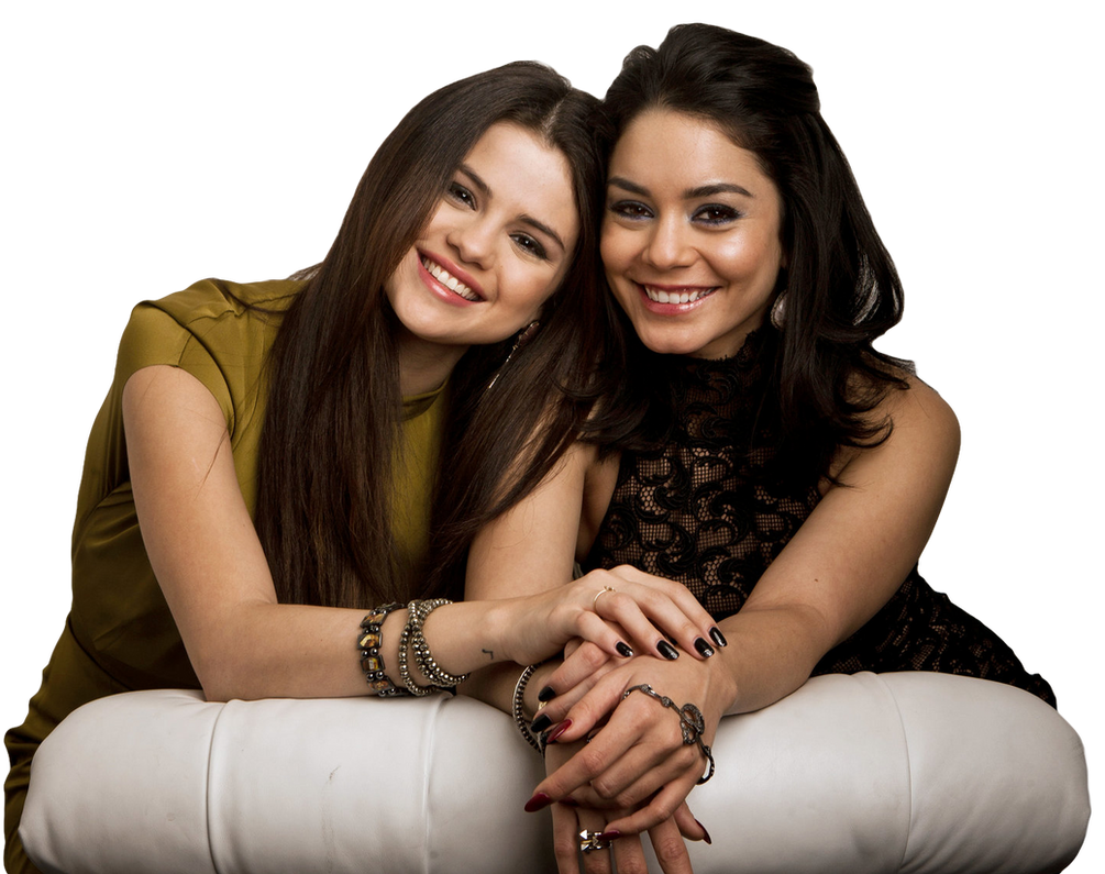 Selena Gomez And Vanessa Hudgens Png By Flawlessduck On