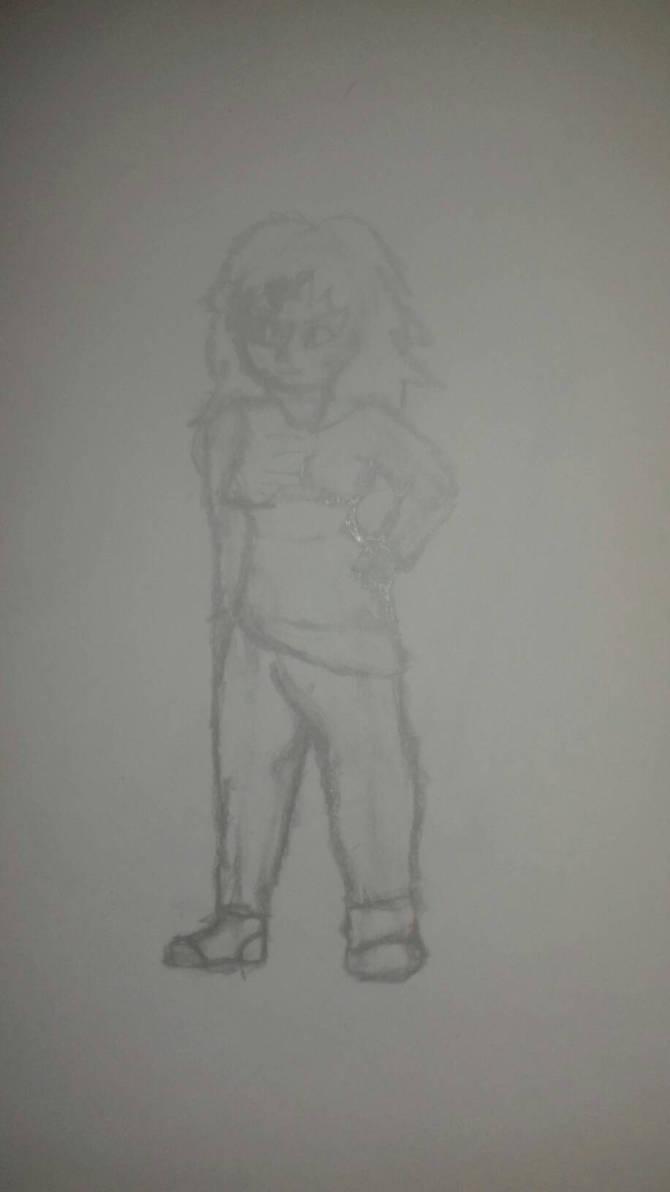 Just A Random Sketch by simoloita