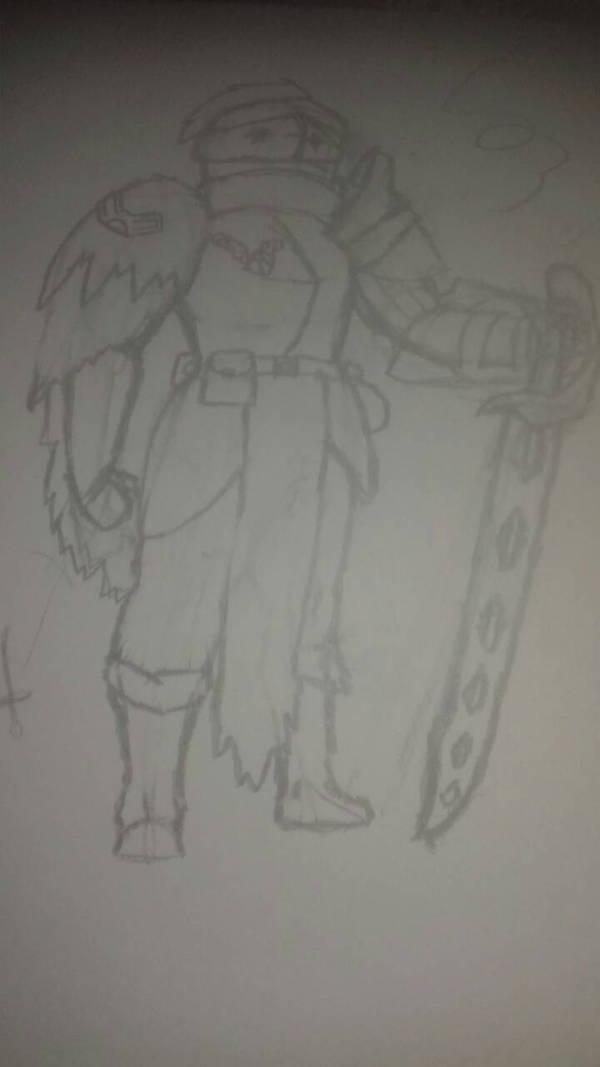 Sketch i suppose TwT by simoloita