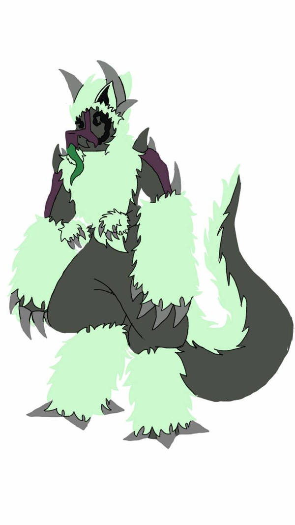 Experimenting with lineless outlines by simoloita
