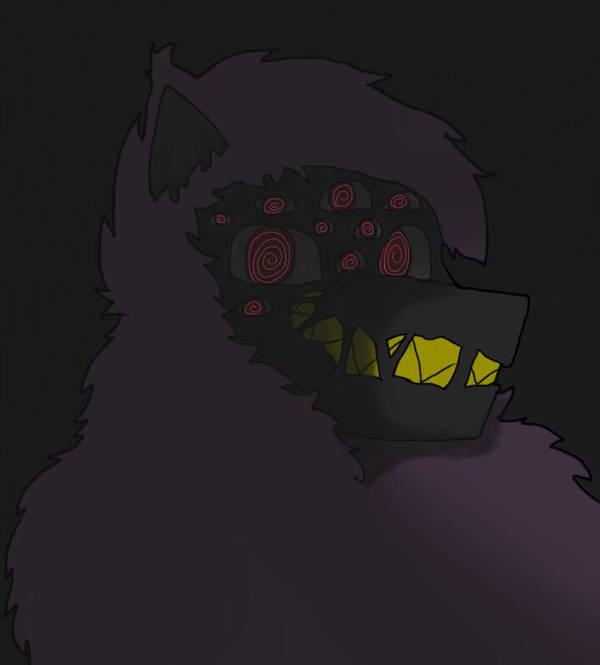 Lil Creepy drawing cuz me bored (new oc nocturno) by simoloita