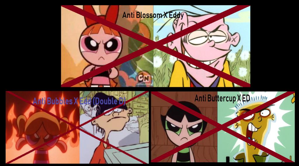 Anti Eds X Powerpuff Girls Stamp