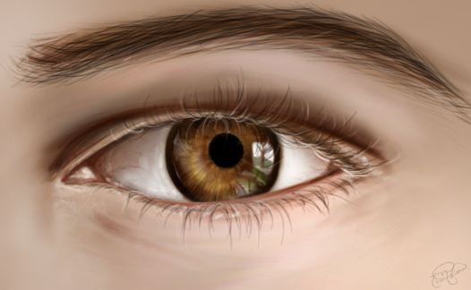 Eye Practice by Feffervesce