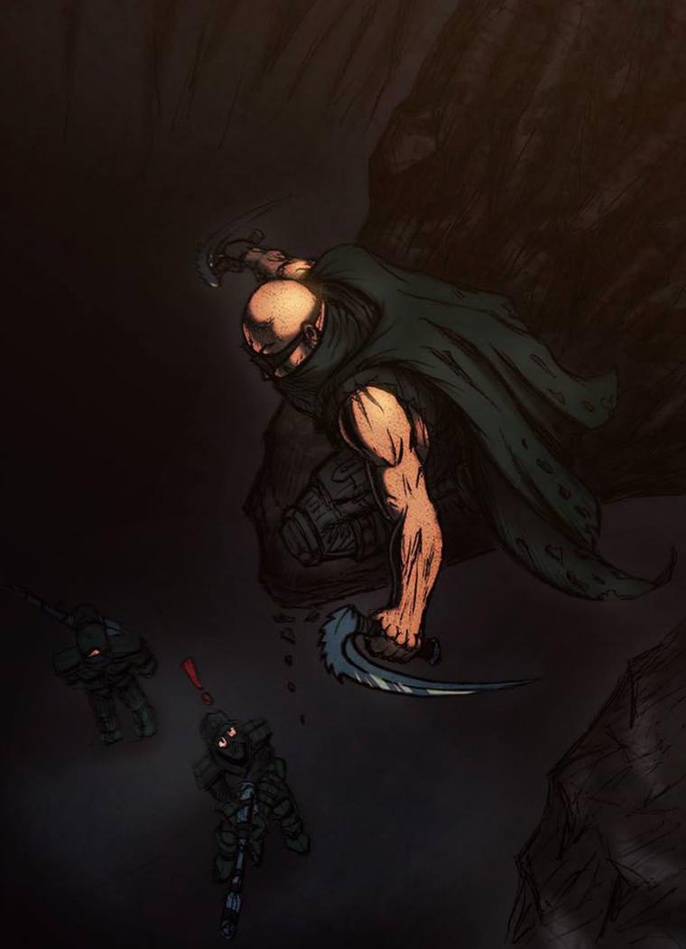 Riddick by dnewlenox