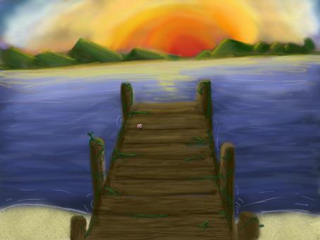 Sunset Bridge by wolfwing44